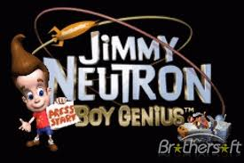 JIMMY NEUTRON, souriant